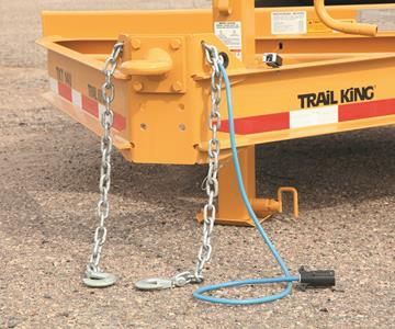 IMG 2090 Adjustable Pintle Hitch, Bolt On Safety Chains With Grab Hooks (1)